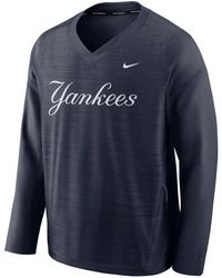 72e1ececc Lyst - Nike Men's New York Yankees Dri-fit Touch Half-zip Pullover ...