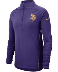 2e962bd60e0f6 Nike Women's Florida Gators Stadium Element Quarter-zip Pullover in ...