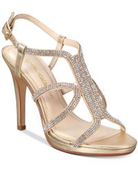 Caparros - Pizzaz Embellished Evening Sandals - Lyst
