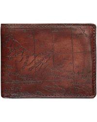Patricia Nash - Men's Leather Map Billfold Wallet - Lyst