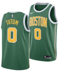 611419c24ef7 Nike - Jayson Tatum Boston Celtics Earned Edition Swingman Jersey - Lyst