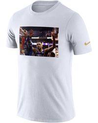 Nike - Ben Simmons Philadelphia 76ers Rookie Photo Reel T-shirt - Lyst