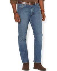 Polo Ralph Lauren - Big And Tall Straight-fit Stanton-wash Jean - Lyst