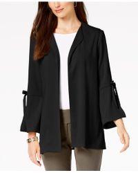 Alfani - Bow Sleeve Jacket, Created For Macy's - Lyst
