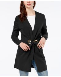 INC International Concepts - Long-sleeve Grommet-detail Cardigan, Created For Macy's - Lyst