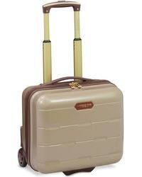 "London Fog - Brentwood 15"" Hardside Under-seater Carry-on Suitcase, Created For Macy's - Lyst"