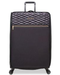 "DKNY - Allure 29"" Quilted Softside Spinner Suitcase - Lyst"
