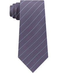 Kenneth Cole - Simply Slim Stripe Tie - Lyst