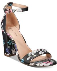 bb20b4a1f62 Lyst - Call It Spring Trivio Two-piece Block-heel Pumps in Natural