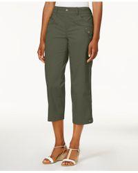 Style & Co. - Tab-pocket Capri Trousers - Lyst