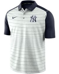 3e041e146 Lyst - Nike Men's New York Yankees Dri-fit Training Polo Shirt in ...