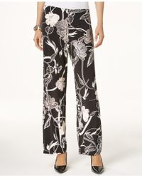 Alfani - Printed Wide-leg Pants, Created For Macy's - Lyst