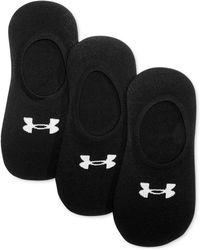 Under Armour - 3-pk. Essential Ultra Liner Socks - Lyst
