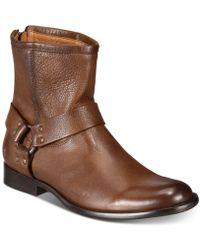 Frye - Phillip Harness Boots - Lyst