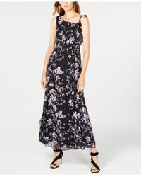INC International Concepts - I.n.c. One-shoulder Floral-print Maxi Dress, Created For Macy's - Lyst