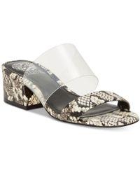 Vince Camuto - Women's Caveera Block Heel Sandals - Lyst