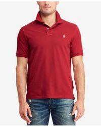 cab39a234e7a1c Lyst - Polo Ralph Lauren Classic Fit Cotton Polo Bear Shirt, Created ...