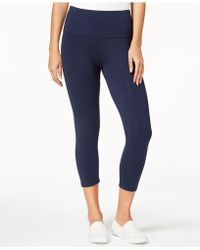 Style & Co. - Cropped Tummy-control Leggings, Created For Macy's - Lyst