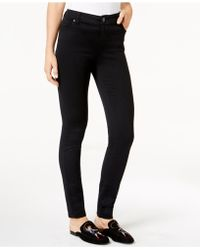 INC International Concepts - Curvy-fit Super-skinny Jeans, Black Wash - Lyst