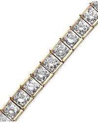 Macy's - Diamond Bracelet (5-5/8 Ct. T.w.) In 10k Gold - Lyst