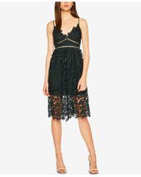 Bardot - Sonya Lace Fit & Flare Dress - Lyst