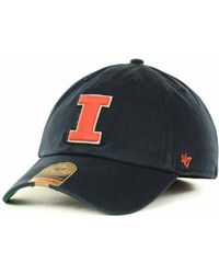 47 Brand   Illinois Fighting Illini Franchise Cap   Lyst