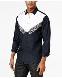 INC International Concepts - Tuxedo-inspired Shirt, Created For Macy's - Lyst