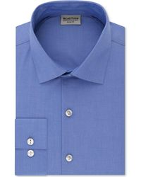 Kenneth Cole Reaction - Techni-cole Slim-fit Performance Stretch Wrinkle-free Flex-collar Dress Shirt - Lyst