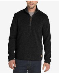 G.H.BASS - Madawaska 1/4-zip Fleece Sweater - Lyst
