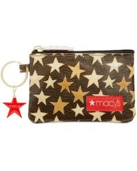 Macy's - Coated Cotton Canvas Coin Purse - Lyst