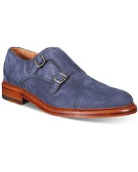 Frye | Men's Jones Double Monk Loafers | Lyst