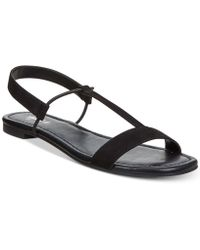 Style & Co. - Kristee T-strap Flat Sandals, Created For Macy's - Lyst