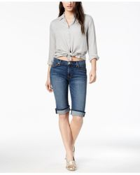 Hudson Jeans - Amelia Bermuda Shorts - Lyst