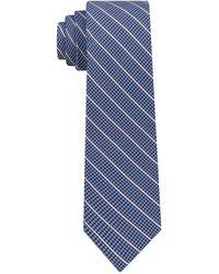 DKNY | Pillar Stripe Slim Tie | Lyst