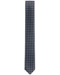 BOSS - Ring Repp Silk Slim Tie - Lyst