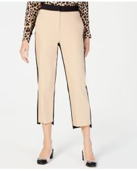 Marella - Ileo Cropped Colorblocked Pants - Lyst