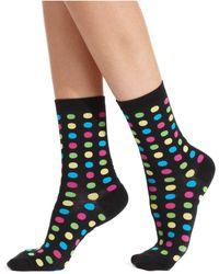 Hot Sox - Fun Dot Trouser Socks - Lyst