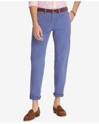 Polo Ralph Lauren - Stretch Straight Fit Chino Pants - Lyst
