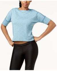 Nike - Dry Medalist Cropped Running Top - Lyst