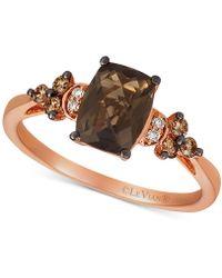 f6c8cdbaa Le Vian ® Nude & Chocolate Diamond Paw Prints Ring (3/8 Ct. T.w.) In 14k  Rose Gold in Metallic - Lyst