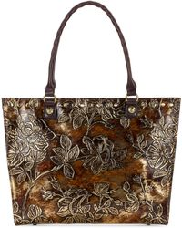 Patricia Nash - Metallic Zancona Medium Tote - Lyst