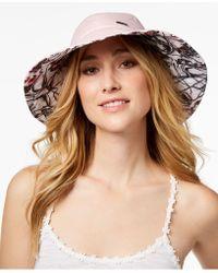 Steve Madden - Floral Reversible Bucket Hat - Lyst