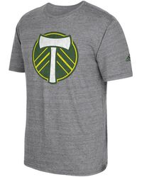adidas - Portland Timbers Vintage Too Triblend T-shirt - Lyst