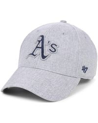 sneakers for cheap a04b5 7bf71 Macy s. 47 Brand - Oakland Athletics Flecked Mvp Cap - Lyst