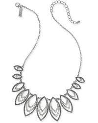 """INC International Concepts - I.n.c. Navette Statement Necklace, 18"""" + 3"""" Extender, Created For Macy's - Lyst"""