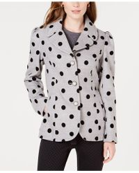 Maison Jules - Polka-dot Jacket, Created For Macy's - Lyst