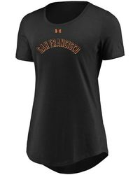 Under Armour - San Francisco Giants Team Font Scoop T-shirt - Lyst