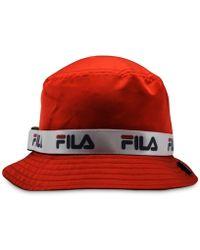 8443fbe3a58 Fila - Satin Bucket Hat - Lyst