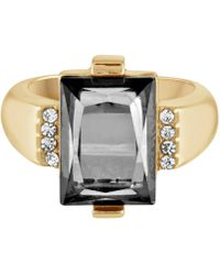 RACHEL Rachel Roy - Gold-tone Color Stone Ring - Lyst