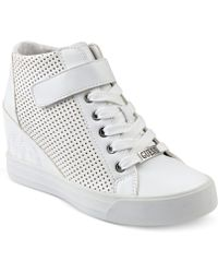 Guess - Women's Decia Wedge Sneakers - Lyst